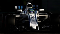 Felipe Massa v kvalifikaci v Abú Zabí