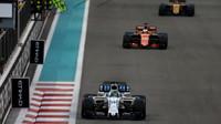 Felipe Massa v posledních závodě své kariéry v Abú Zabí