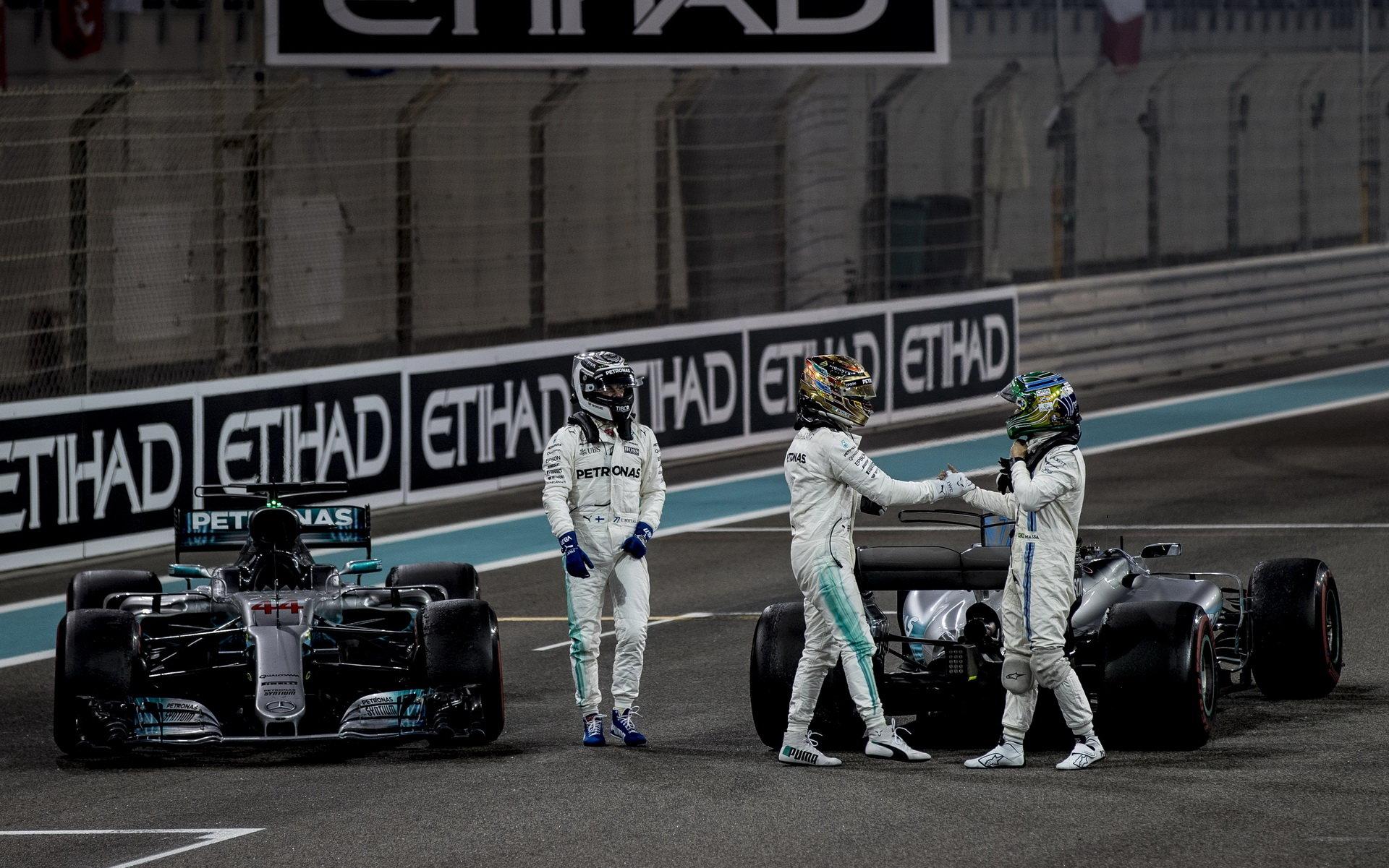 Felipe Massa po své poslední velké ceně s piloty Mercedesu