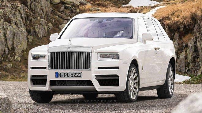 Rolls-Royce Cullinan - Peisert Design