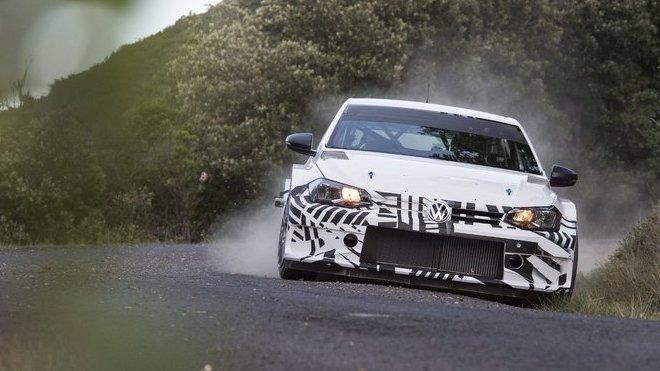 Volkswagen začal testovat nové Polo GTI R5