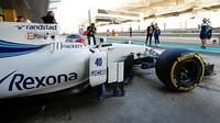 Robert Kubica při testech s Williamsem v Abú Zabí