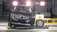 Mercedes-Benz X-Class v crash testech Euro NCAP
