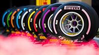 Pneumatiky Pirelli při testech v Abú Zabí