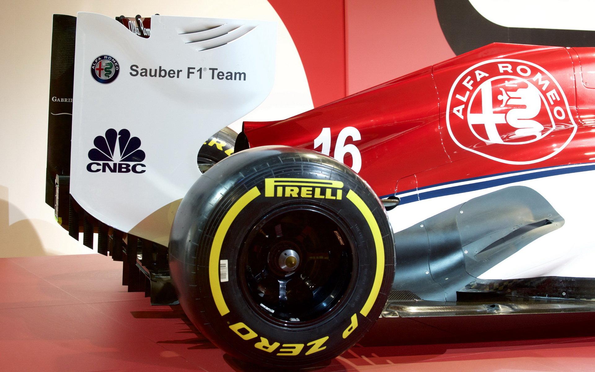 Barvy Sauberu po spojení s Alfou Romeo