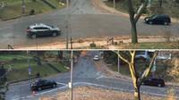 Nebezpečná křižovatka před a po úpravě