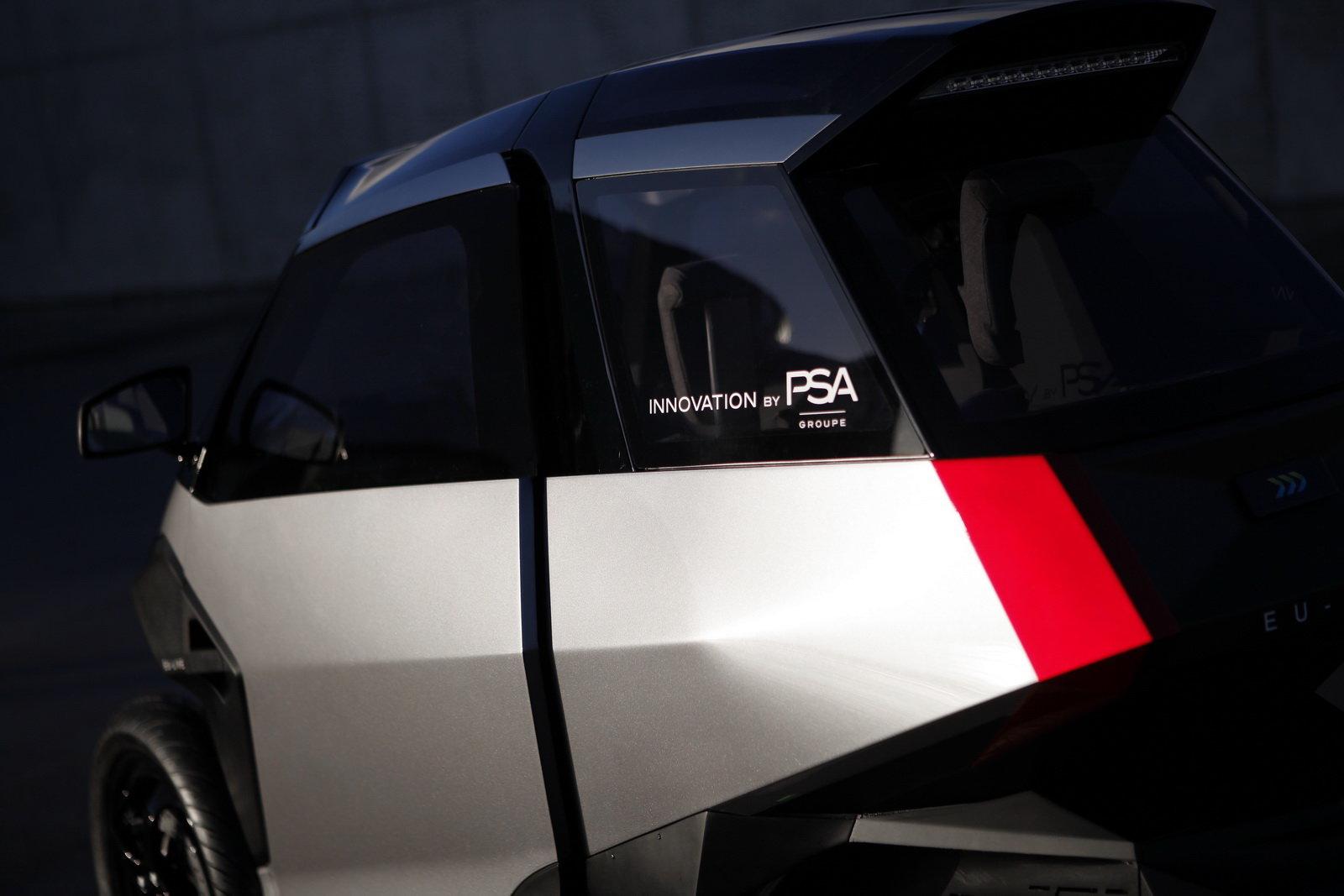 """PSA Groupe představila nový koncept, který je součástí projektu """"EU-LIVE"""""""