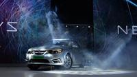 Představení nových elektromobilů NEVS, jejichž základem se stal Saab 9-3
