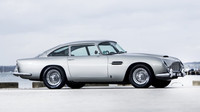 Aston Martin DB5, jehož prvním majitelem byl Paul McCartney