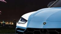 Lamborghini Urus v policejních barvách (Autor: Aksyonov Nikita)