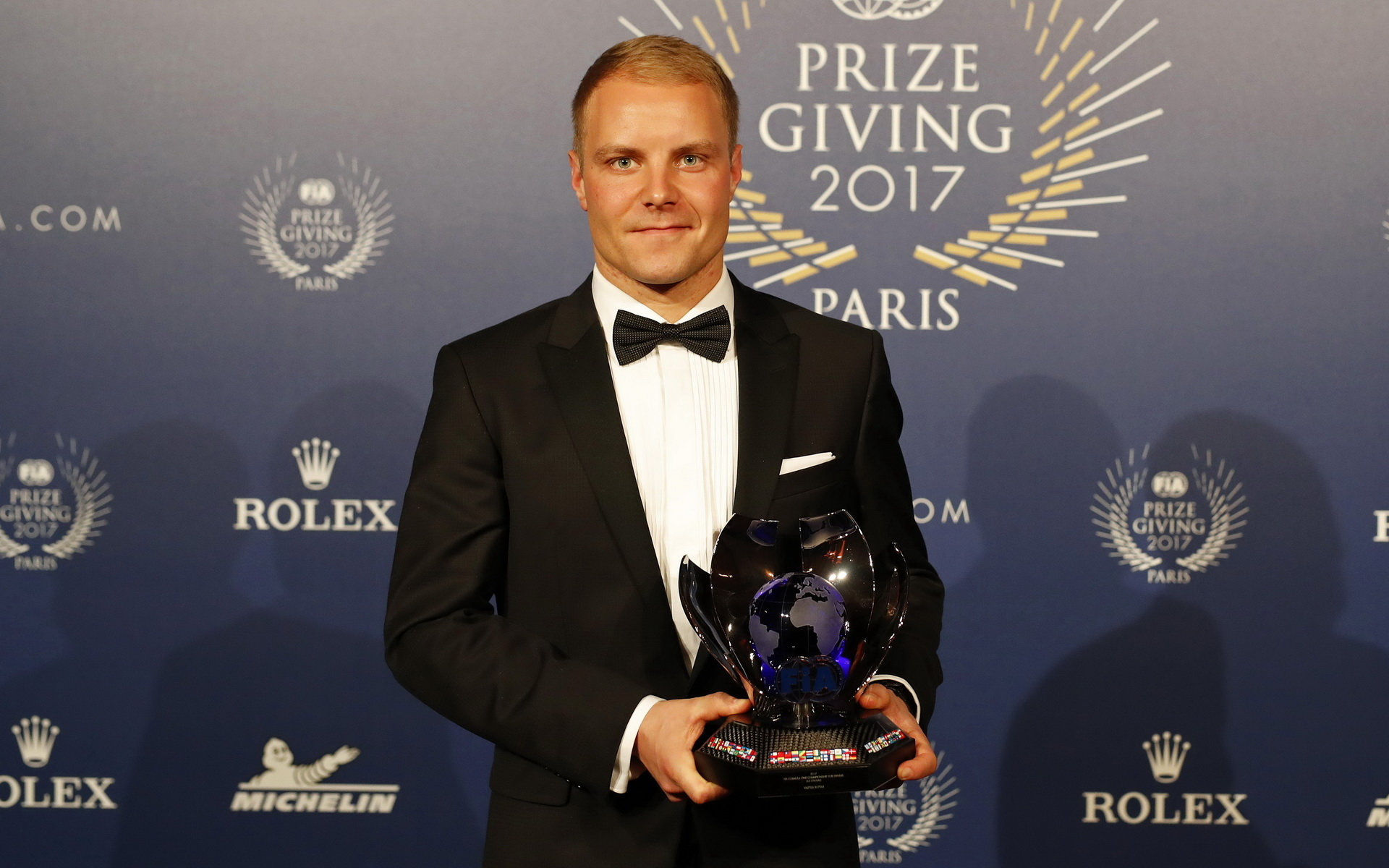 Valtteri Bottas na galavečeru FIA