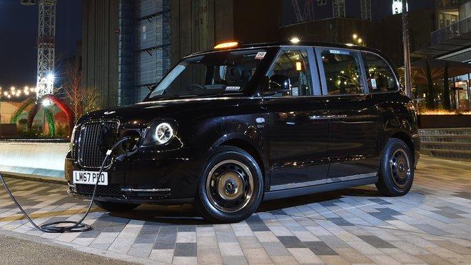 TX eCity taxi - nový způsob přepravy londýnskými ulicemi