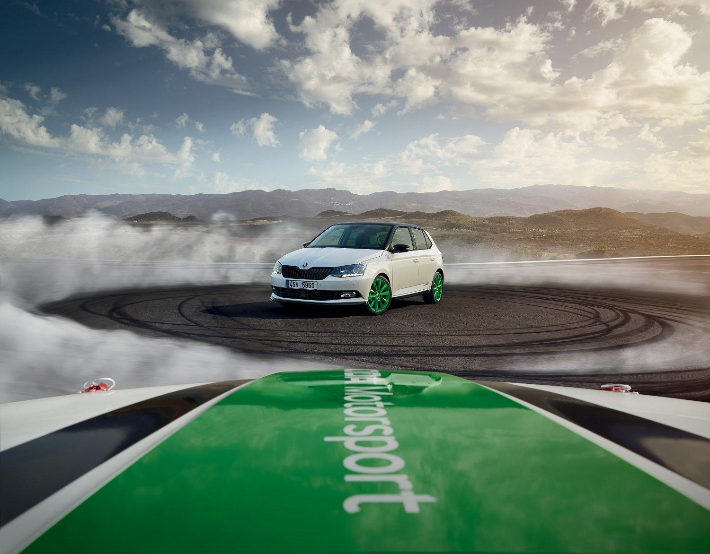 Nejostřejší Škoda Fabia nové generace oslavuje závodní úspěchy Fabie R5 ve světě rally