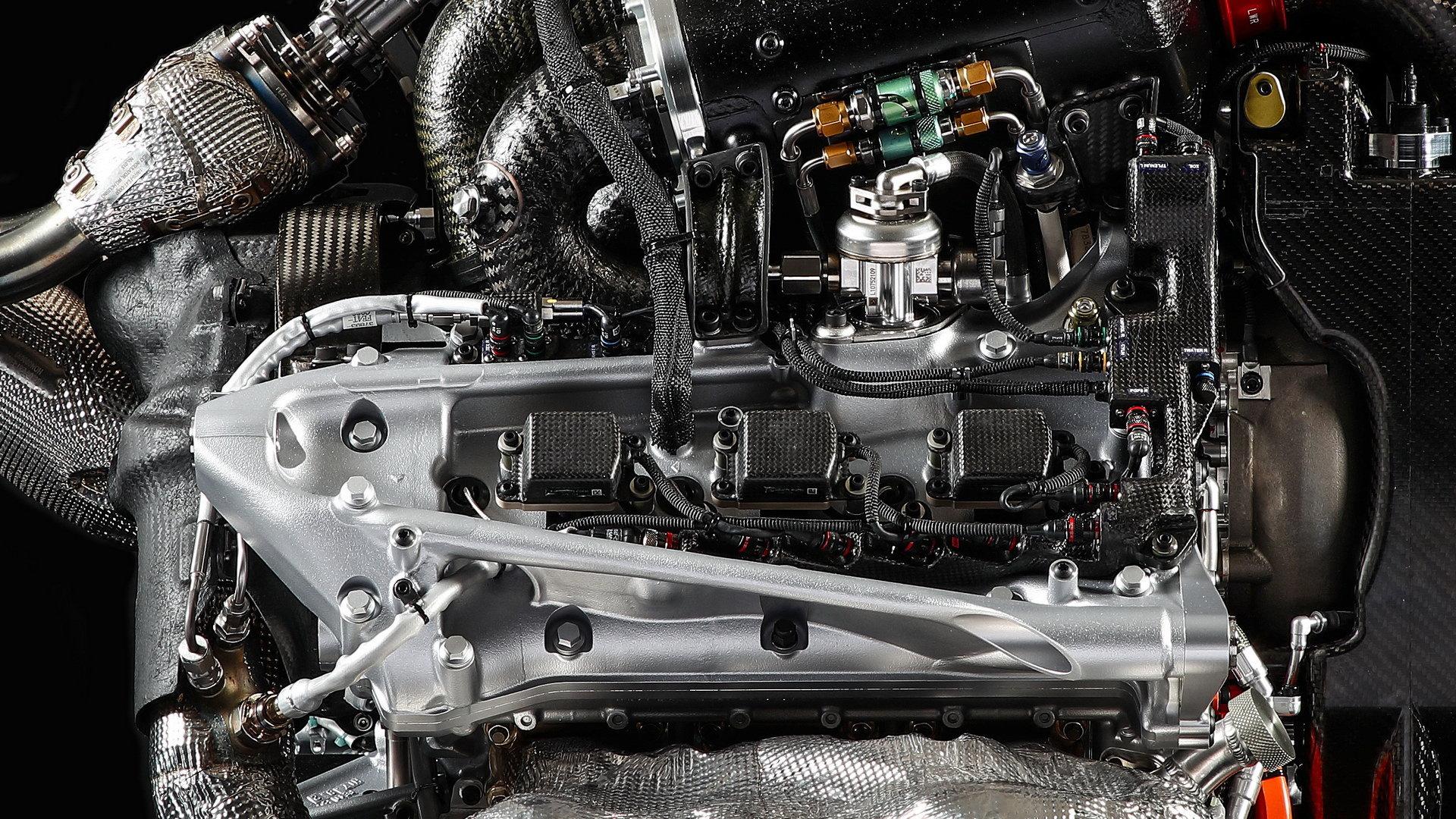 Detaily pohonné jednotky Honda RA617H