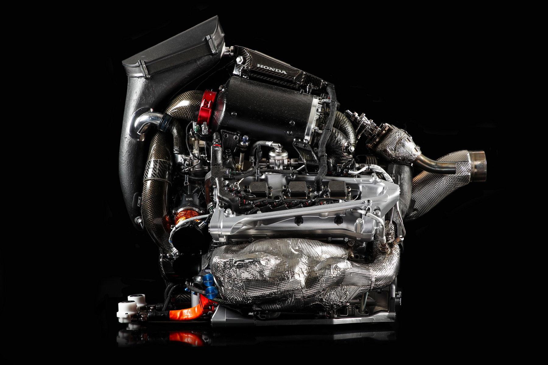 Motor Hondy pohánějící McLaren v roce 2017