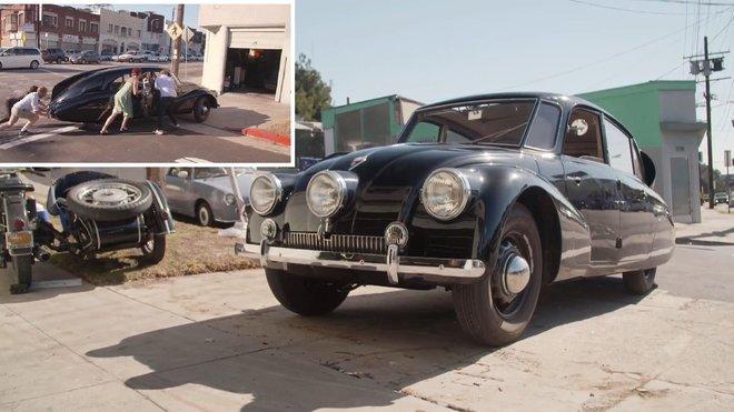 Tatra 87 (zdroj fotografií: Jalopnik)