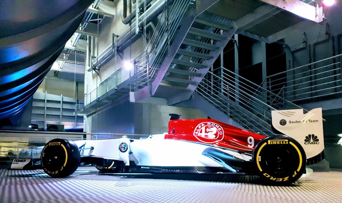 Nové zbarvení Alfa Romeo Sauberu pro sezónu 2018