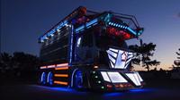 """Náklaďáky """"Dekotora"""" jsou v Japonsku brány jako pojízdné umění"""