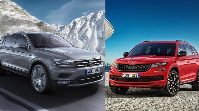 Volkswagen Tiguan Allspace vs. Škoda Kodiaq: Kdo zvítězí v přímém srovnání?