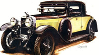 Škoda Hispano Suiza 25/100 Cabriolet