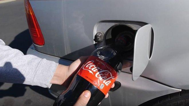 Coca-Cola jako alternativní palivo rozhodně nefunguje