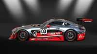 Mercedes-AMG GT3 - Linkin Park Racing Design