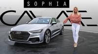Sophia Calate představuje Audi A7