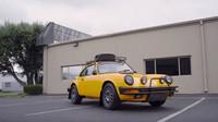 Porsche Carrera upravená pro Rally