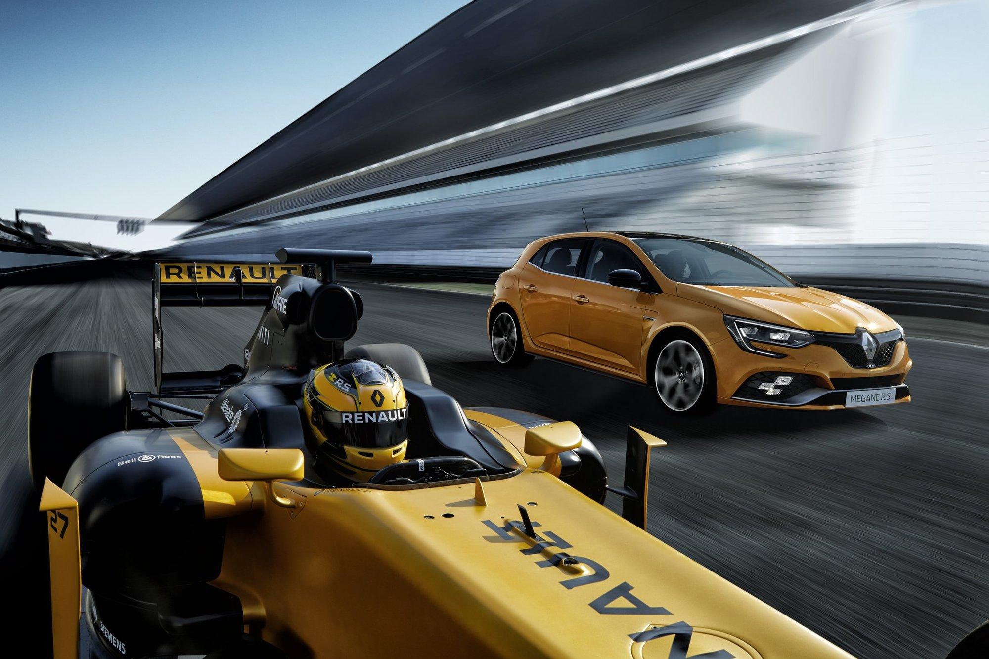Renault se snaží převést své technologie z F1 do světa silničních vozů