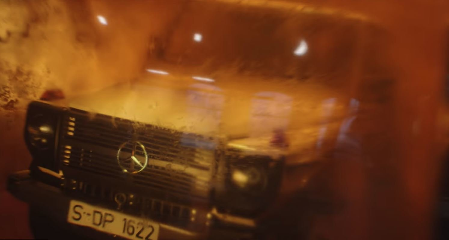Upoutávka na nový Mercedes-Benz třídy G