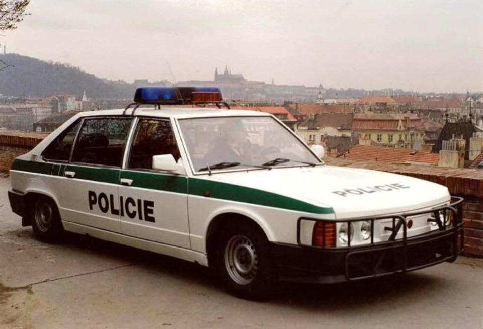 Tatra 613 Police Special