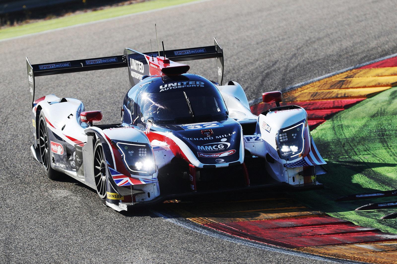 Fernando Alonso během prvního testu vozu kategorie LMP2 v Aragonu