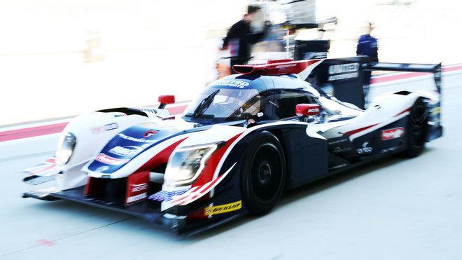 Fernando Alonso při testech s Ligierem LMP2 kategorie v Aragonu