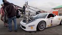 Speciální Ferrari s filmovou technikou
