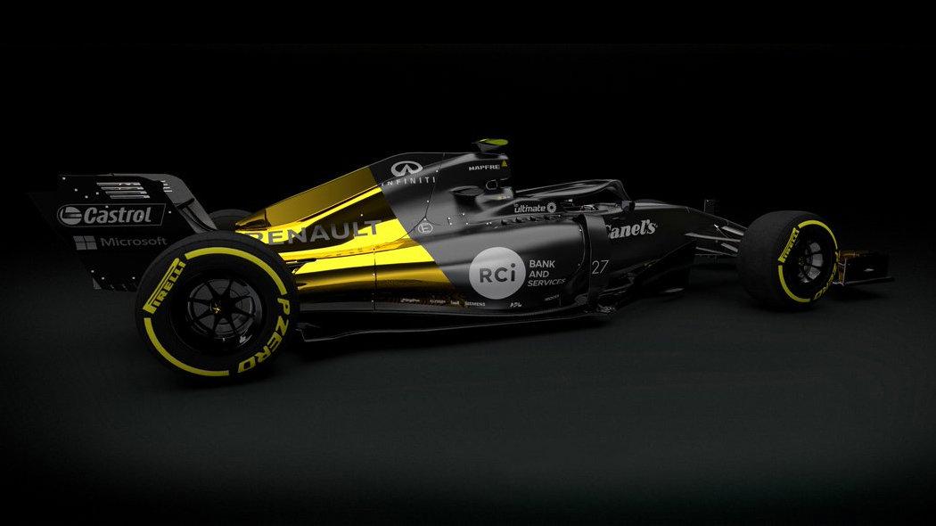 Renault se chce letos přiblížit Red Bullu a v šampionátu si polepšit