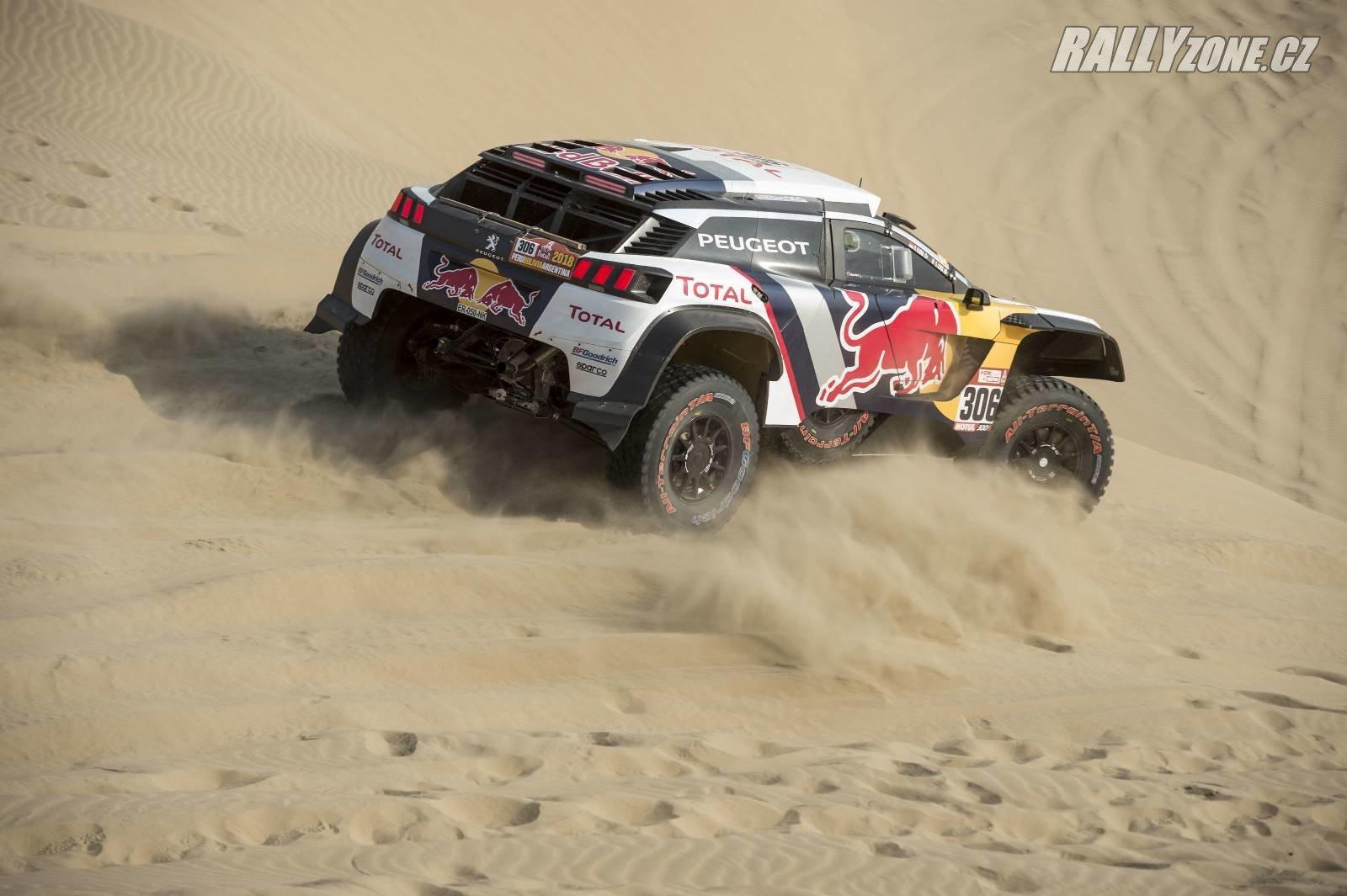Na Dakaru se Loebovi s továrně nasazeným Peugeotem zvítězit nepodařilo. Poštěstí se mu v roce 2019 s Peugeotem nasazeným PH Sportem?