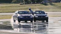 Záběry z pokusu o rekordní drift v podání BMW M5