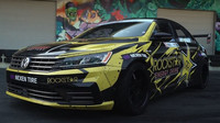 Pravděpodobně nejextrémnější Volkswagen Passat, jehož majitelem je slavný závodník Tanner Foust