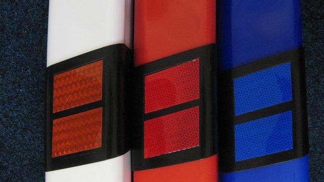 Patníky v barevných variantách
