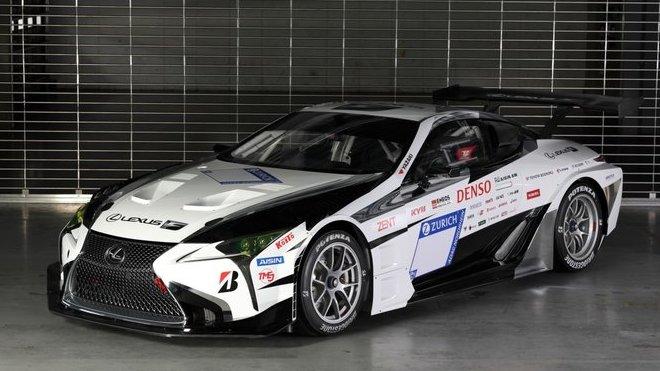Závodní speciál Lexus LC