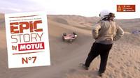 Záchrana převrácené Tatry během závodů Rally Dakar 2018