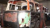 Karosa NO 80 - záběry z náročné renovace