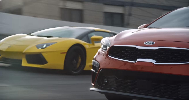 Kia postavila rodinný sedan proti Lamborghini a zabodovala na ...