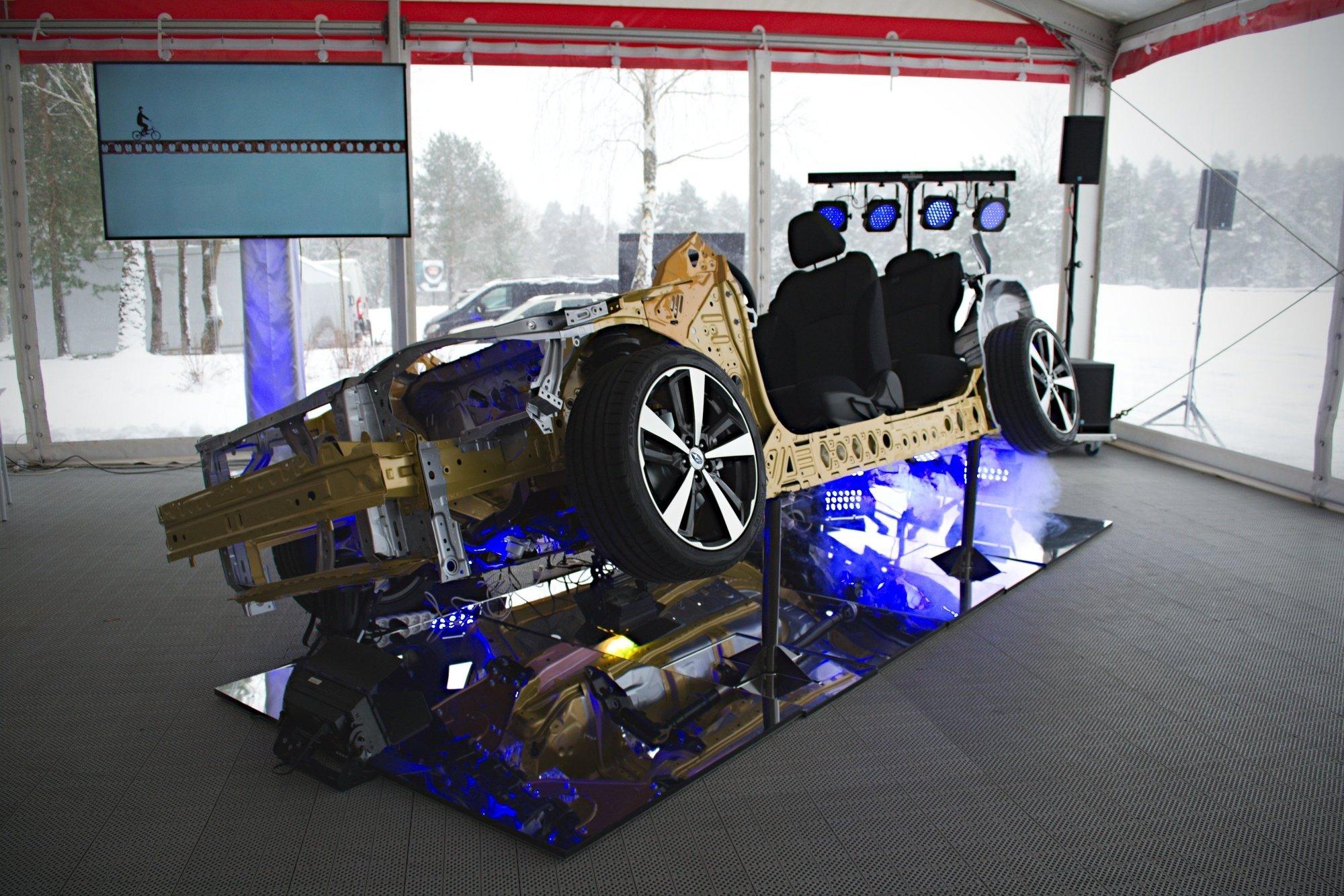 Subaru XV stojí společně s Imprezou na nové platformě SGP