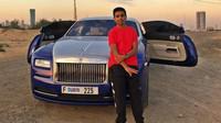 Rashed Belhasa a jeho nový Rolls-Royce Wraith