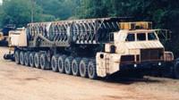 Největší monstrum Sovětského svazu? Brutální pohon 24x24 a na korbě jaderné rakety - anotační foto