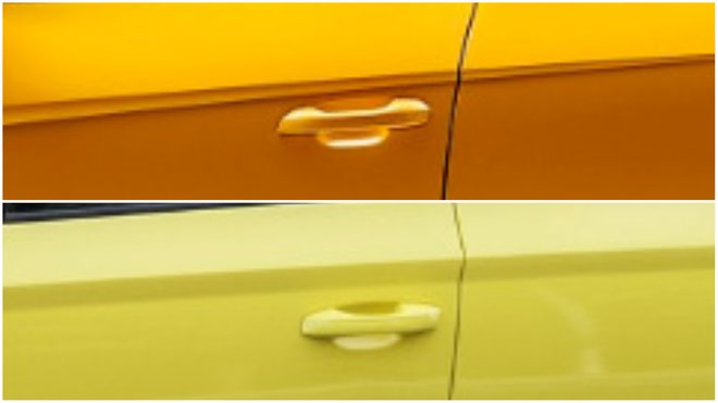Srovnání klik dveří u Lamborghini Urus a Škody Fabie