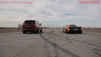 V netradičním závodu vyzval Jeep Grand Cherokee Trackhawk na sprint McLaren 570S