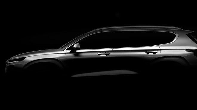 První fotka nového Hyundai Santa Fe