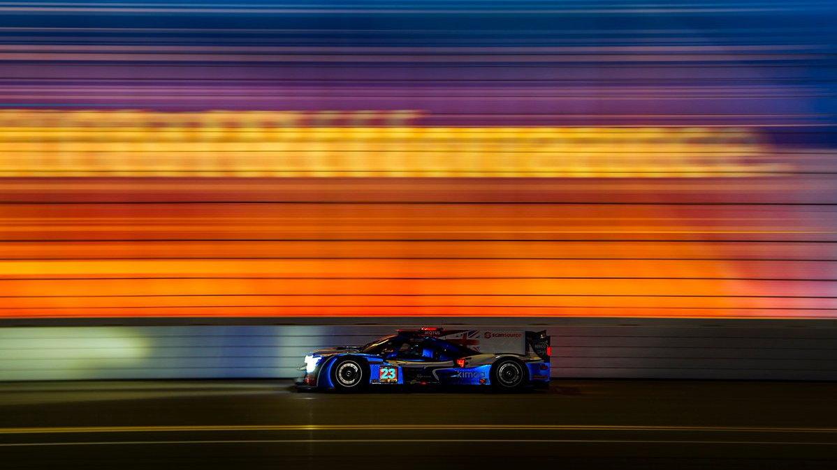Fernando Alonso s Ligierem JS P217 v Daytoně